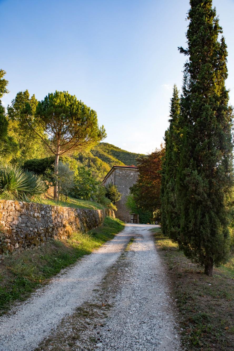 Il Convento Auffahrt